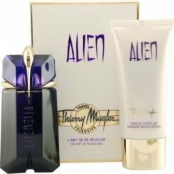 Mugler Alien Woda perfumowana 60ml spray + Balsam do ciała 100ml