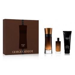 Giorgio Armani Code Pour Homme Profumo Woda perfumowana 60ml spray + 15ml + Żel pod prysznic 75ml
