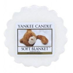 Yankee Candle Wax Wosk Soft Blanket 22g