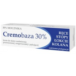 Cremobaza 30% Mocznika krem do skóry nadmiernie przesuszonej zrogowaciałej i pękającej 30g