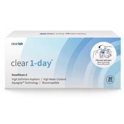 Clearlab Clear 1-day soczewki jednodniowe -1,25 30szt