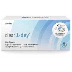 Clearlab Clear 1-day soczewki jednodniowe -1,75 30szt