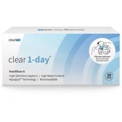 Clearlab Clear 1-day soczewki jednodniowe -2,00 30szt