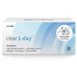 Clearlab Clear 1-day soczewki jednodniowe -2,25 30szt