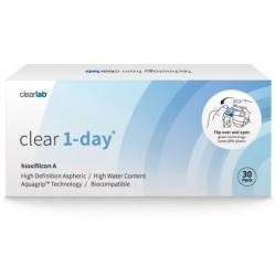 Clearlab Clear 1-day soczewki jednodniowe -3,00 30szt