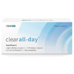 Clearlab Clear All-Day miesięczne soczewki -1,75 3szt
