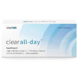 Clearlab Clear All-Day miesięczne soczewki -2,00 3szt