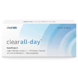 Clearlab Clear All-Day miesięczne soczewki -2,50 3szt