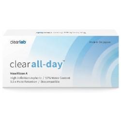 Clearlab Clear All-Day miesięczne soczewki -2,75 3szt