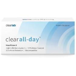 Clearlab Clear All-Day miesięczne soczewki -3,00 3szt