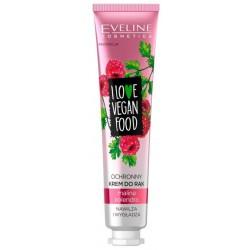 Eveline I Love Vegan Food Hand Cream ochronny krem do rąk Malina & Kolendra 50ml