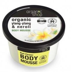 Organic Shop Organic Ylang-Ylang & Neroli Body Mousse mus do ciała Balijskie Kwiaty 250ml