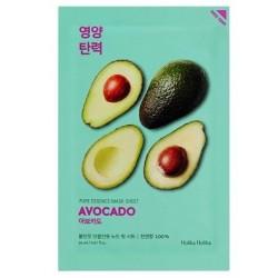Holika Holika Pure Essence Mask Sheet Avocado Antyoksydacyjna maseczka z ekstraktem z awokado 20ml