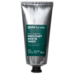 Zew For Men Nawilżający krem do twarzy z czarną hubą 80ml
