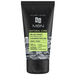 AA Men Natural Care żel do mycia twarzy oczyszczający Węgiel i Chmiel 150ml