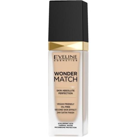 Eveline Wonder Match luksusowy podkład do twarzy dopasowujący się 10 Light Vanilla 30ml