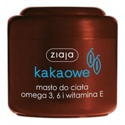 Ziaja Masło Kakaowe Masło do ciała Omega 3 + Omega 6 + Wit.E 200ml