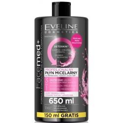 Eveline Facemed+ profesjonalny płyn micelarny 3w1 do każdego rodzaju cery 650ml