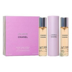 Chanel Chance Woda toaletowa 3 x 20ml spray