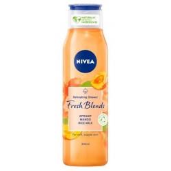Nivea Fresh Blends Refreshing Shower żel pod prysznic odświeżający Apricot & Mango & Rice Milk 300ml