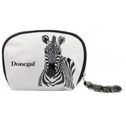 Donegal Kosmetyczka damska Zebra
