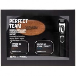 Zew For Men X Trymer trymer do włosów + mydło do brody 85ml + mydło do twarzy i ciała 85ml + kartacz do brody