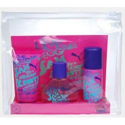 Puma Jam Woman Woda toaletowa 40ml spray + Żel pod prysznic 50ml + Dezodorant 50ml spray