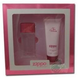 Zippo The Woman Woda perfumowana 30ml spray + Żel pod prysznic 75ml