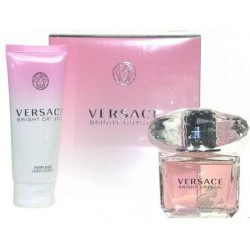 Versace Bright Crystal Woda toaletowa 90ml spray + Balsam do ciała 100ml