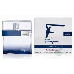 Salvatore Ferragamo F by Ferragamo Free Time Woda toaletowa 100ml spray