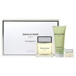 Givenchy Dahlia Noir L`Eau Woda toaletowa 90ml spray + Woda toaletowa 5ml bez sprayu + Żel do ciała 100ml