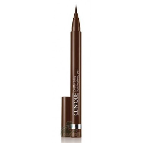 Clinique Pretty Easy Liquid Eyelining Pen Płynny eyeliner w ołówku 02 Brown 0,67g