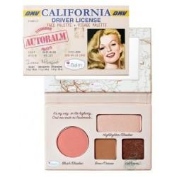 The Balm California Face Palette Paleta do makijażu