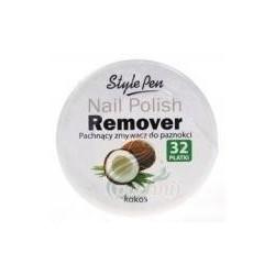 Ferity Nail Polish Remover Pachnący zmywacz do paznokci Kokos