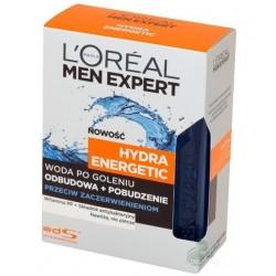 L`Oreal Men Expert Hydra Energetic Woda po goleniu przeciw zaczerwienieniom 100ml