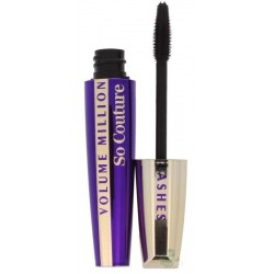 L`Oreal Mascara Volume Million Lashes So Couture Tusz do rzęs 9,5ml - Black