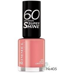 Rimmel 60 Seconds Super Shine Lakier do paznokci 405 Rose Libertine 8ml