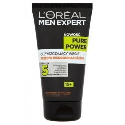 L`Oreal Men Expert Pure Power Żel Oczyszczający Węgiel przeciw niedoskonałościom 150ml
