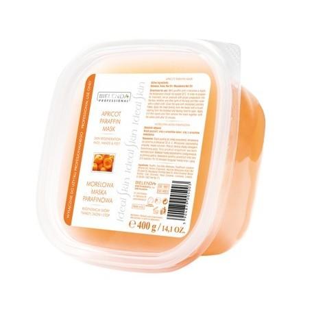 Bielenda Professional Apricot Paraffin Mask Beeswax & Macadamia Oil Morelowa maska parafinowa 400g