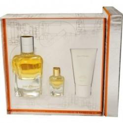 Hermes Jour d` Hermes Woda perfumowana 85ml spray z możliwością uzupełniania + 7,5ml bez sprayu + Balsam do ciała 30ml