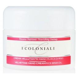 I Coloniali Velveting Hand Cream Rice Bran Oil Krem do rąk z olejkiem z otrębów ryżowych 100ml