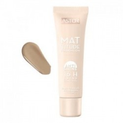 Astor Mattitude Foundation Anti Shine 16H SPF22 Podkład matujący 102 Golden Beige 30ml