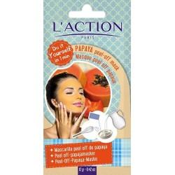L`Action Papaya Peel-off Mask Maseczka typu peel off z papayą 6g