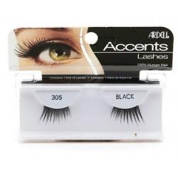Ardell Accent 305 1 Para sztucznych rzęs Black