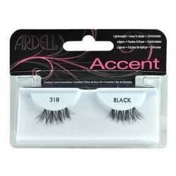 Ardell Accent 318 1 Para sztucznych rzęs Black