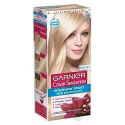 Garnier Color Sensation Farba do włosów 113 Jedwabisty Beżowy Superjasny Blond
