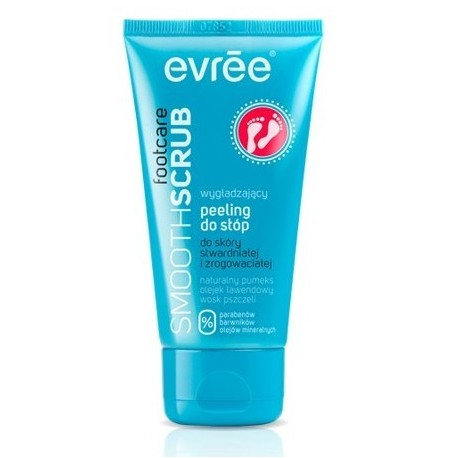 Evree Smooth Scrub Footcare Wygładzający peeling do stóp 75ml