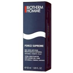 Biotherm Homme Force Supreme Skin Total Reactivator Anti-Aging Gel Przeciwzmarszczkowy żel do twarzy dla mężczyzn 50ml