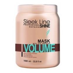 Stapiz Sleek Line Repair Volume Mask Maska do włosów z jedwabiem zwiększająca objętość 1000ml