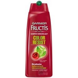 Garnier Fructis Color Resist Szampon do włosów farbowanych i z pasemkami 250ml